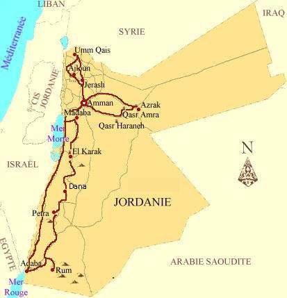 Carte Jordanie Petra.Messecretsdevoyage Com Destination Jordan Itinerary Amman