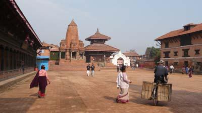 Nepal Bhaktapur Durbar