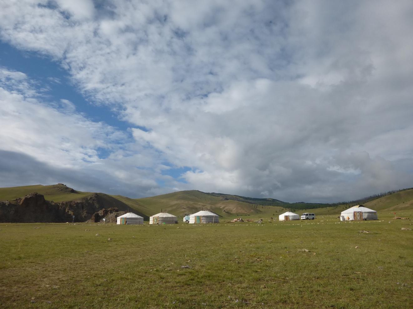mongolie yourte d'hôte