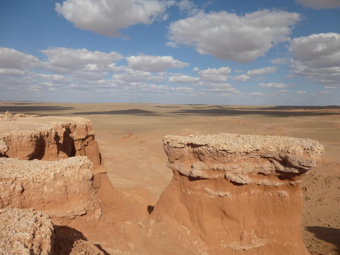 Mongolie Falaises Bayanzag2